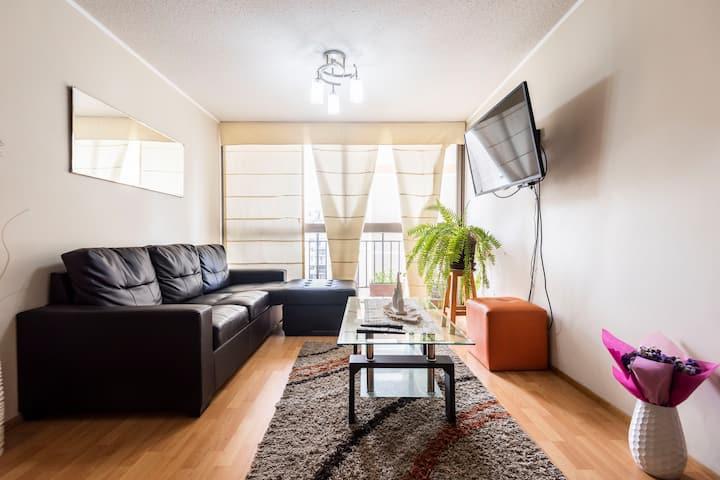 Habitación y desayuno en seguro condominio.