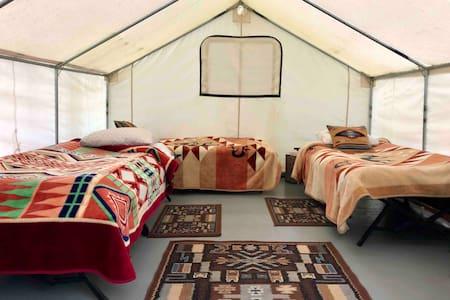 Osprey Tent at Hoh Rainforest Resort