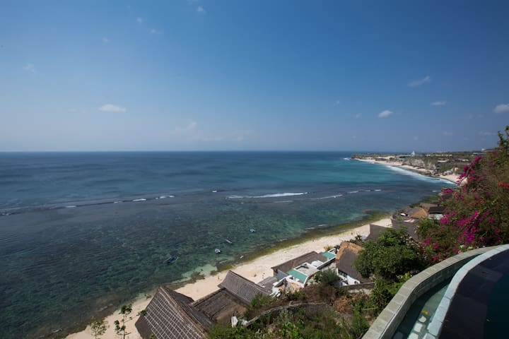 Ocean Cabins above Dazzling Cliff & Beach - South Kuta - Appartement