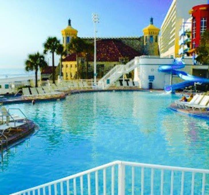 Daytona Ocean Walk Villas Daytona Beach Fl