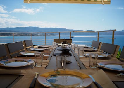 Villa Sagone avec vue mer exceptionnelle - Vico - วิลล่า