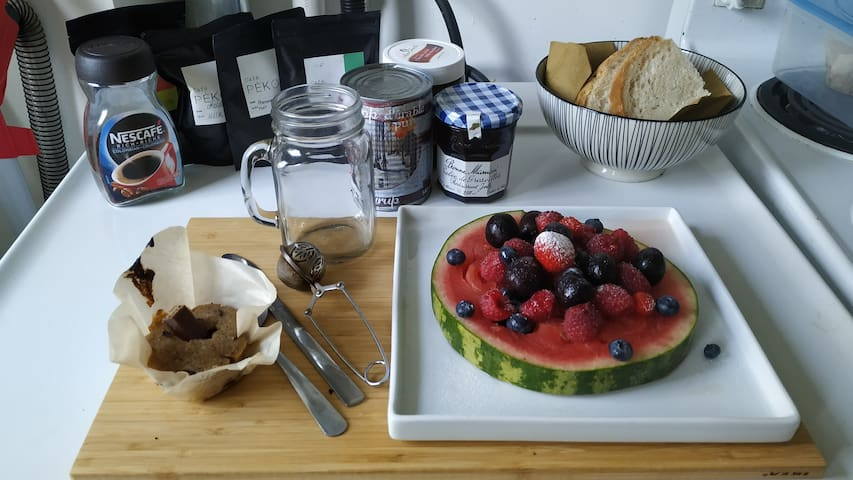 Chambre privée avec petit déjeuner maison à Verdun