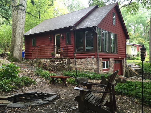 Cozy Cabin in Cozy Lake - Jefferson - Stuga