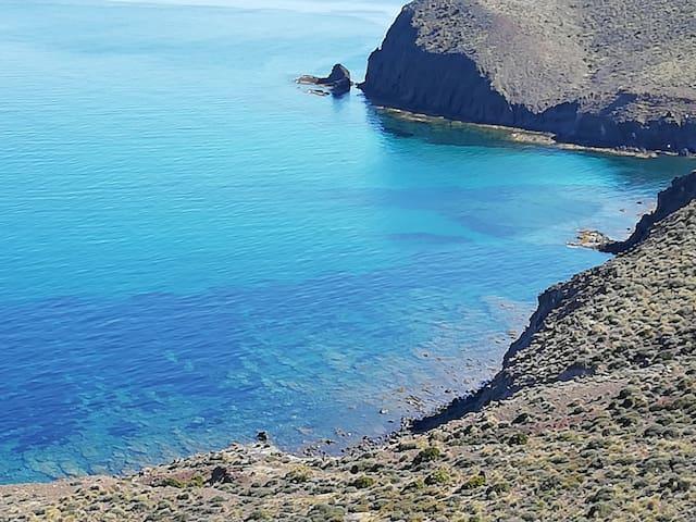 Parque Natural Cabo de Gata a 15 min .