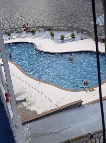 Lakeside & Poolside condo