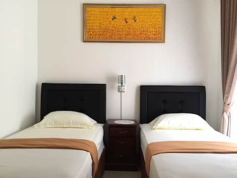 Cozy Double Beds Deluxe Rooms A