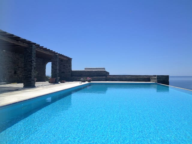 A Villa with wonderful sea view - Tínos - Villa