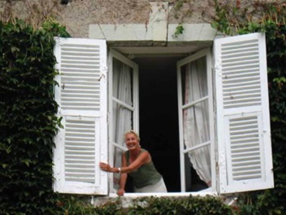 Françoise maîtresse de maison