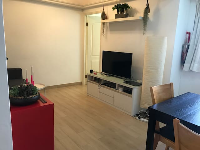 Spacious cosy apartment, 2 min walk from MRT