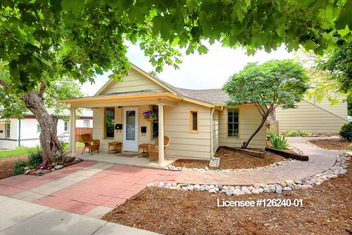 Golden Historic District 3BR Bungalow