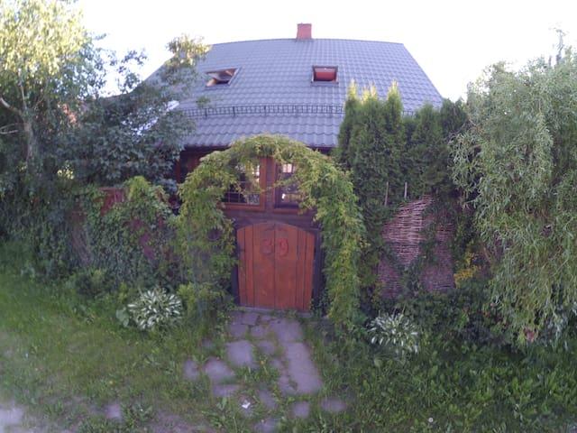 Domek nieopodal rzeki bug - Klepaczew - House