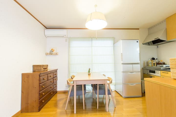 15min from Kyoto!2 Bedroom!Free WIFI!Free Bicycle!