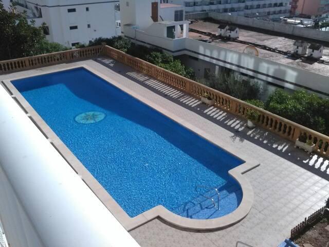 Nice studio with sea views and pool in Santa Ponsa - Santa Ponsa - Byt