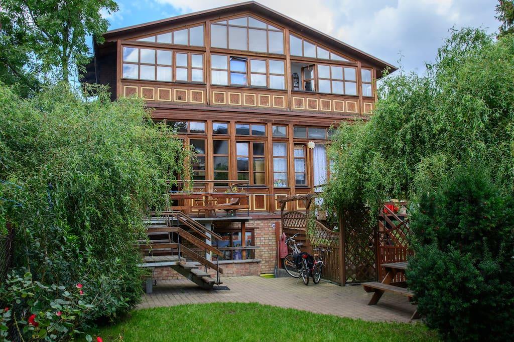 Ogród i taras/ garden