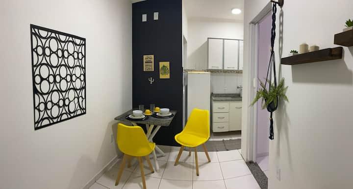 Badem Flat - Comodidade em Barão Geraldo