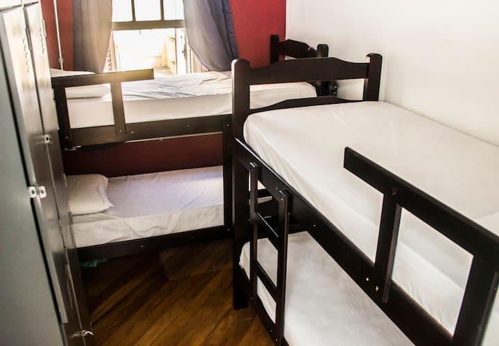 Dormitorio 4 Camas Vila Mariana - São Paulo
