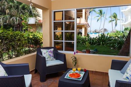 2 BDR Apartment on the beach, Ocean view, E101 - Punta Cana - Apartment