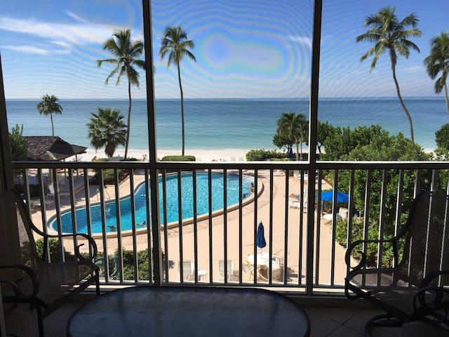 2 Bedroom Oceanfront Naples Continental Club Condo