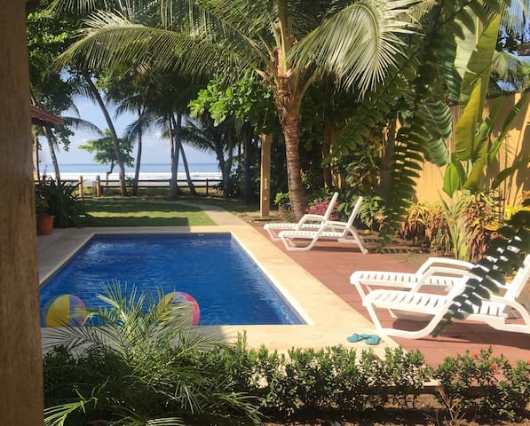 Beachfront Palm Unit  - Casa Bejuco Ay Bonita - Bejuco - Apartamento