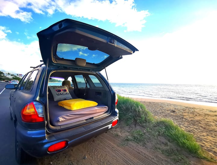 MAUI Easy DIY Camping Car for Solo Traveler 🚙