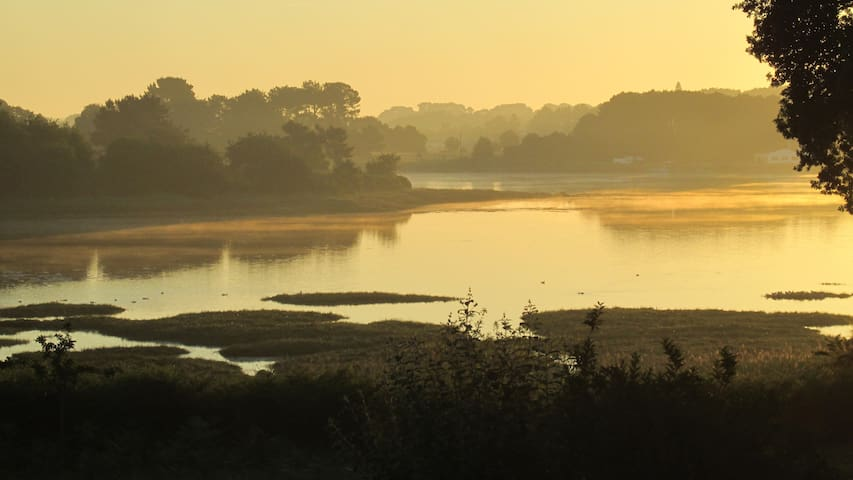 Sur le Golfe du Morbihan - T2 calme et agréable - Crac'h - Apartamento