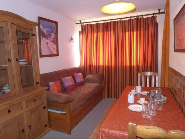 Vanoise Val Thorens 26 m2 for 4 persons - VAL THORENS - Flat