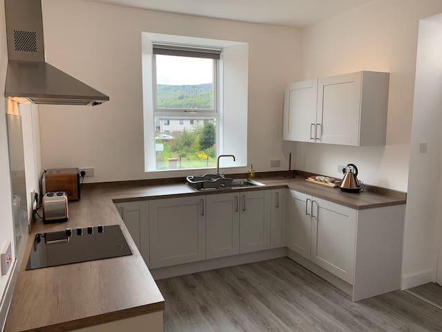 Traditional scottish whisky cottage