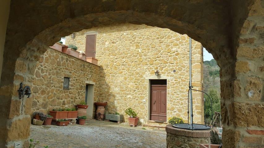 Casina Bassa - Castelmuzio - Apartament