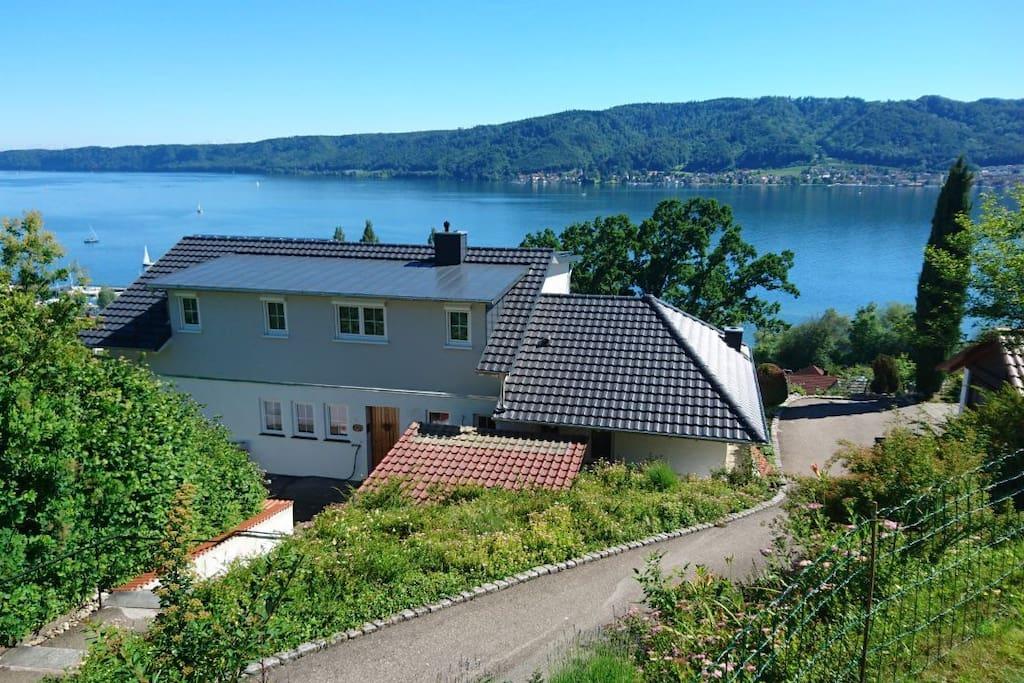 Ferienwohnung Mit Herrlichem Seeblick Wohnungen Zur