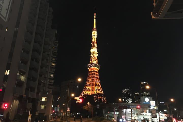 The center oh Tokyo ! Cozy room. - Minato-ku - Apartamento