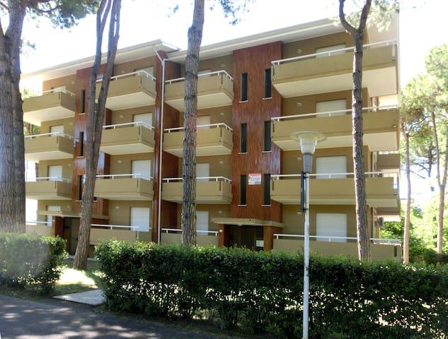 Michelangelo Beach two bedroom flat 6 beds A/side - Lignano Sabbiadoro - Apartament