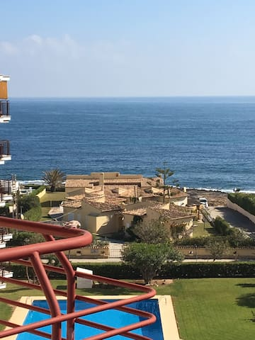 Top Floor Sea View Apartment, Playa Arenal, Javea.