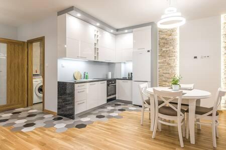 Nowy apartament 48 m w centrum Grójca
