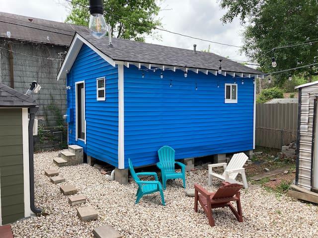 The Tiny BLUE House