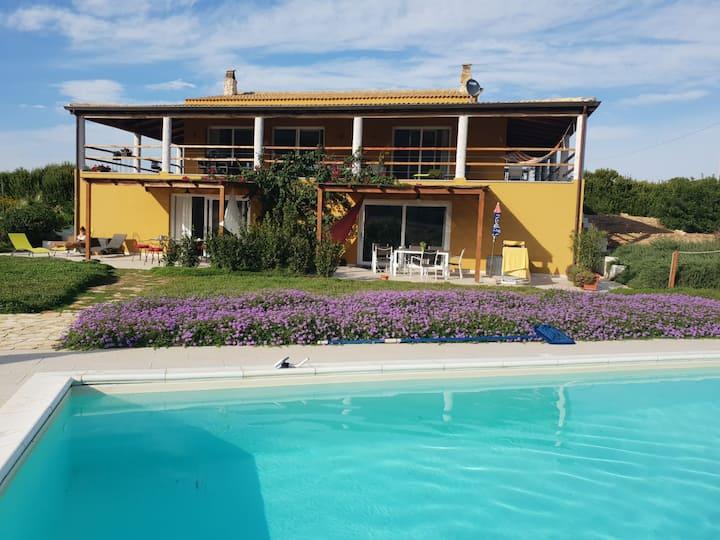 Alghero, Villa Tara -Full nature&pool (6p.- 100m²)
