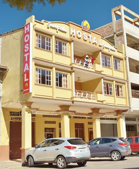Hostal Gampala. Habitación Doble