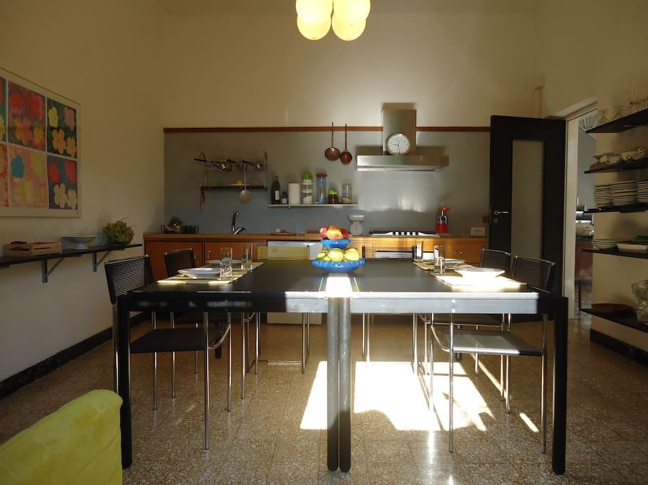 Cucina ad uso esclusivo degli ospiti