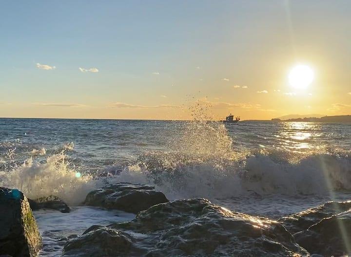 Sol mediterraneo.( Torre del mar, Nerja, Torróx. )