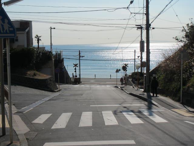 Surf town・inn 1 [波・街・宿] Kamakura 镰仓 江之岛 箱根 日本的房子体验 - Kamakura-shi - House