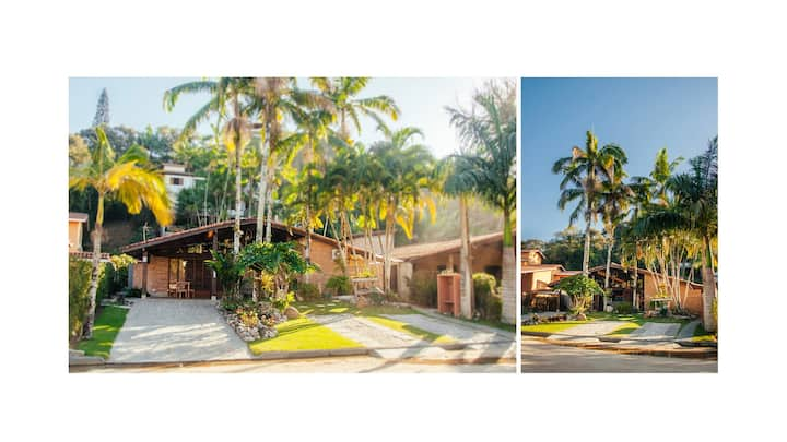 Casa dentro do condomínio do Tenório, 70m da praia