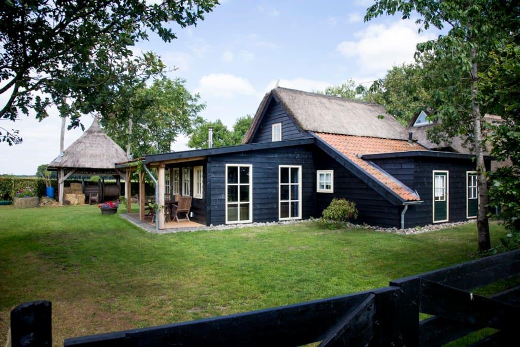 prachtig landelijk vakantiehuis met veel privacy