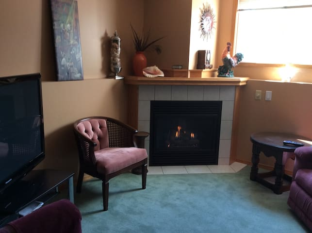 Olds one bedroom suite with private entrance