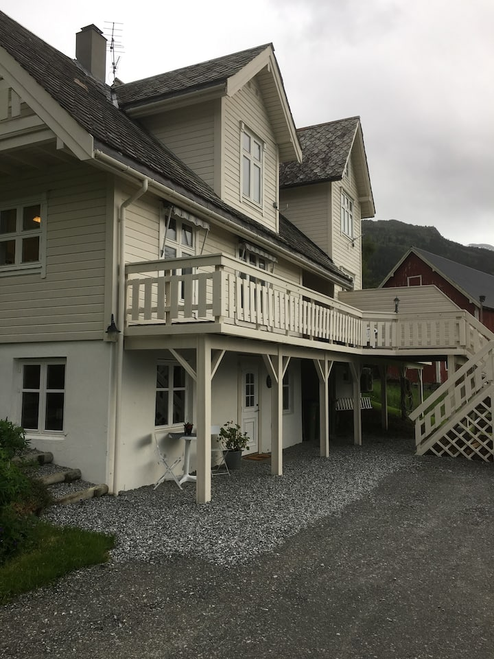 The house of Mattis in beautiful Innvik