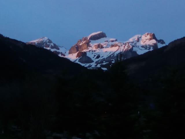 Los picos: Bozo, Llana y Aspe