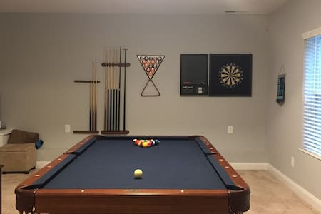 Basement - 1 Bedroom/Bath  w/ Pool Table & More - Waxhaw - Dom