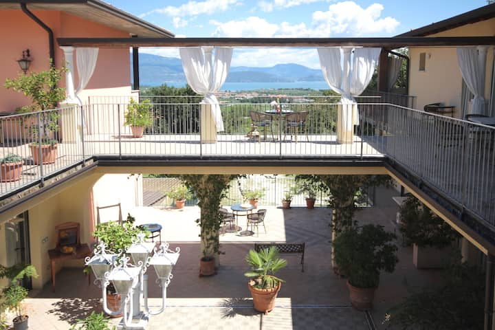 Residence Garda Valtenesi 5 - Nature and lake view