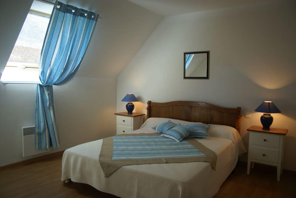 Gîte de la Grange - Chambre bleue
