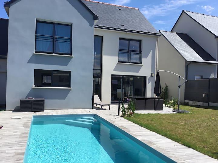 Maison à Saint-Malo à 2,5 km des plages