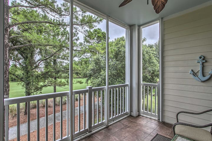 NEW! Myrtle Beach Area Golf Course Condo w/ Pool!