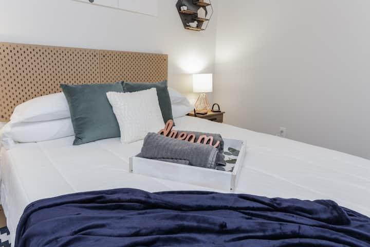 Odd One Inn Blue Room